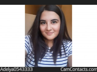 Webcam model Adelya0543333 from CamContacts