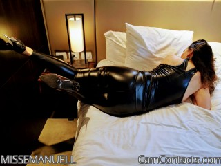 Webcam model MISSEMANUELL from CamContacts