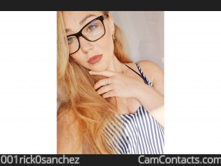 Webcam model 001rick0sanchez from CamContacts