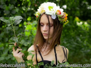 Webcam model RebeccaM48 from CamContacts