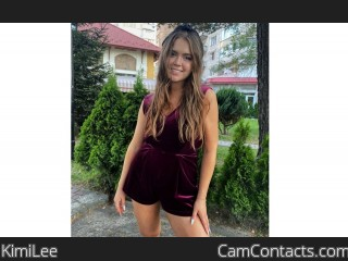 Webcam model KimiLee from CamContacts