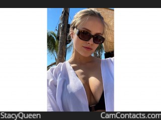 Webcam model StacyQueen from CamContacts