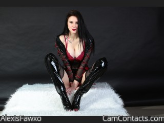Webcam model AlexisFawxo from CamContacts