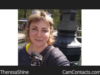 Webcam model TheresaShine from CamContacts