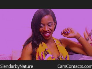 Webcam model SlendarbyNature from CamContacts