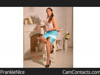 Webcam model FrankieNice from CamContacts