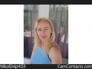 Webcam model Nikol0vip433 from CamContacts