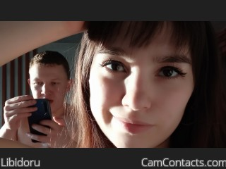 Webcam model Libidoru from CamContacts
