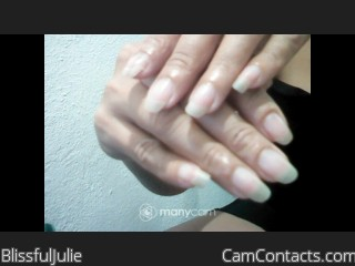 Webcam model BlissfulJulie from CamContacts