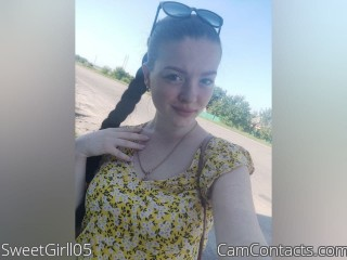 Webcam model SweetGirll05 from CamContacts