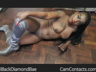 Webcam model BlackDiamondBae from CamContacts