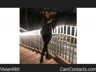 Webcam model VivianKitti from CamContacts
