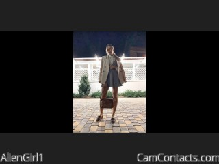 Webcam model AlienGirl1 from CamContacts