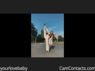 Webcam model yourlovebaby from CamContacts