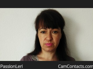 Webcam model PassionLeri from CamContacts