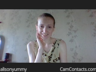 Webcam model alisonyummy from CamContacts