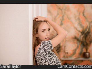 Webcam model SaraiTaylor from CamContacts