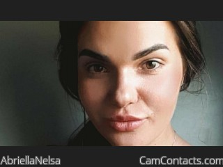 Webcam model AbriellaNelsa from CamContacts