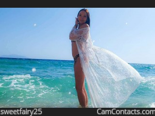 Webcam model sweetfairy25 from CamContacts