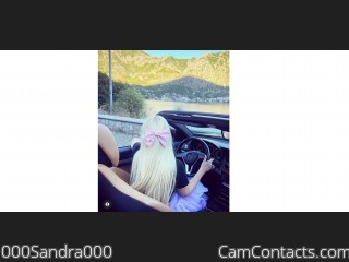 Webcam model 000Sandra000 from CamContacts