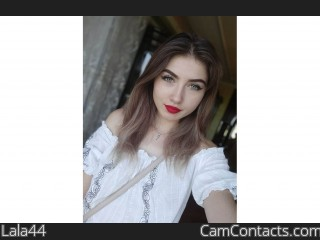 Webcam model Lala44 from CamContacts