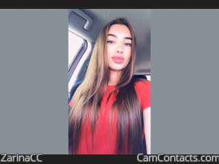 Webcam model ZarinaCC from CamContacts