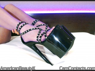 Webcam model AmericanBeautyX from CamContacts