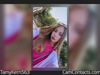 Webcam model TamyKern563 from CamContacts
