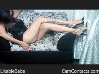 Webcam model LikableBabe from CamContacts