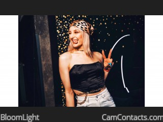 Webcam model BloomLight from CamContacts