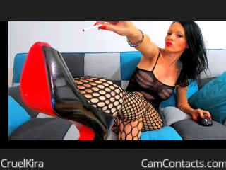 Webcam model CruelKira from CamContacts