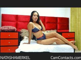 Webcam model NATASHAMERKEL from CamContacts