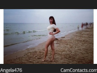 Webcam model Angela476 from CamContacts