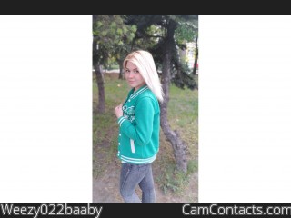 Webcam model Weezy022baaby from CamContacts