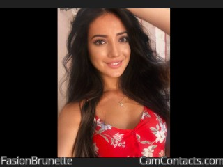 Webcam model FasionBrunette from CamContacts