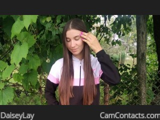Webcam model DaiseyLay from CamContacts