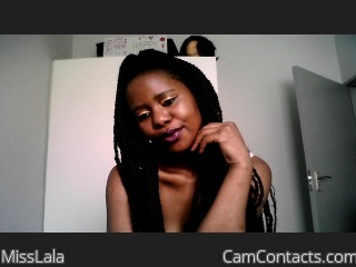 Webcam model MissLala from CamContacts