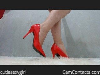 Webcam model cutiesexygirl from CamContacts