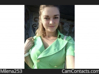 Webcam model Milena253 from CamContacts