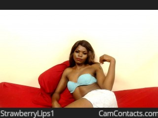 Webcam model StrawberryLips1 from CamContacts