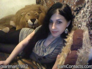 Webcam model marimari1992 from CamContacts