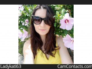 Webcam model Ladykati63 from CamContacts