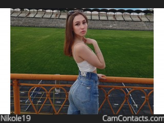 Webcam model Nikole19 from CamContacts