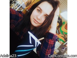 Webcam model Adalina23 from CamContacts