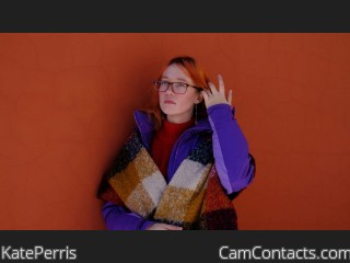 Webcam model KatePerris from CamContacts