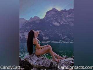 Webcam model CandyCatt from CamContacts