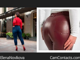 Webcam model ElenaNovikova from CamContacts