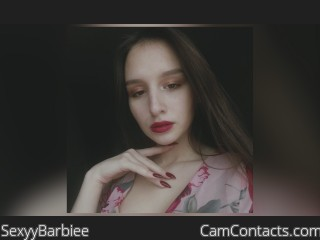 Webcam model SexyyBarbiee from CamContacts