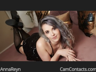 Webcam model AnnaReyn from CamContacts