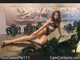 Webcam model YourSweetPie111 from CamContacts